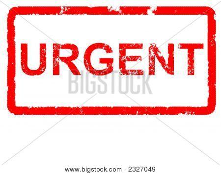Red Grunge Urgent