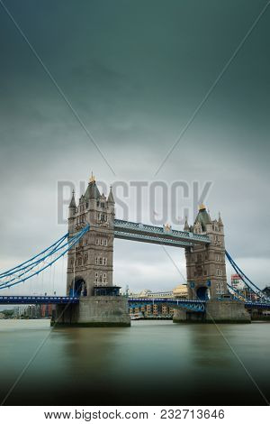 Tower Bridge in London in United Kingdoms.
