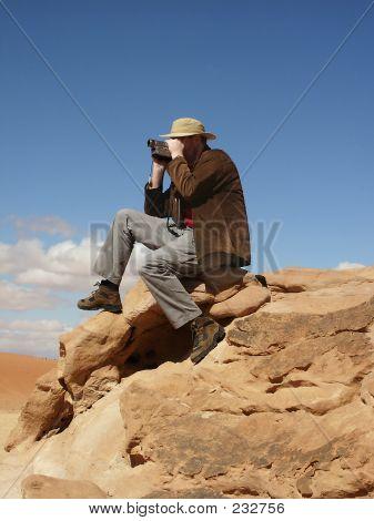 Desert Tourist