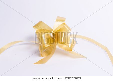Gift Golden Ribbon