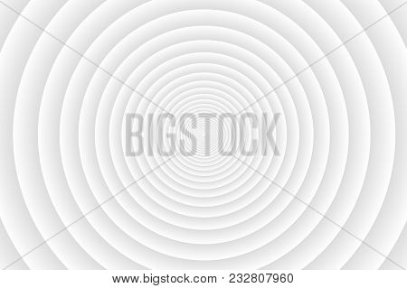 Concentric Circle Elements Gray Pattern,  Black And White Color Ring, Circle Spin Grey Target,