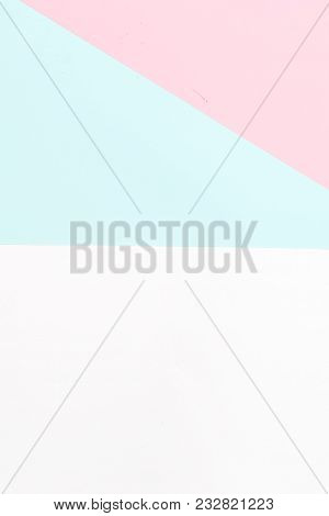 Multicolored Background In Pastel Colors. Vertical Photo