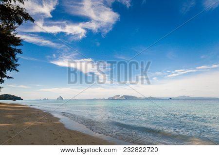 Tropical Landscape Of Koh Kradan