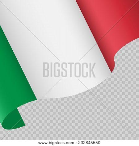 Italian Flag. Second Of June. Festa Della Repubblica Italiana. Italian National Day. Italian Republi