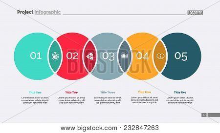 Five Circles Process Vector & Photo (Free Trial) | Bigstock