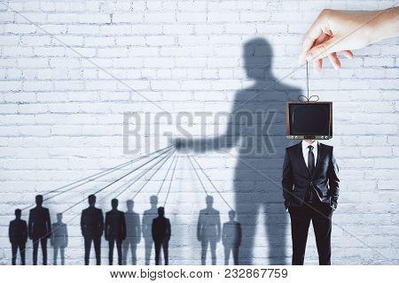 Creative Tv Brainwash Backdrop