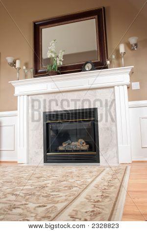 Unique View Of Living Room