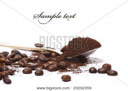 Cocoa In Spoon