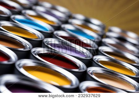 Color palette, can background