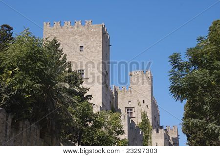 Tower, Palace of the Grand Masters, Rhodes.