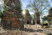 Prasat Krachap (Prasat Kra Chap) ruin, Koh Ker temple complex, Cambodia poster