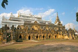 Monastry Maha Aungmye Bonzan In Ava (innwa) - The Ancient Capital Of Myanmar (burma).