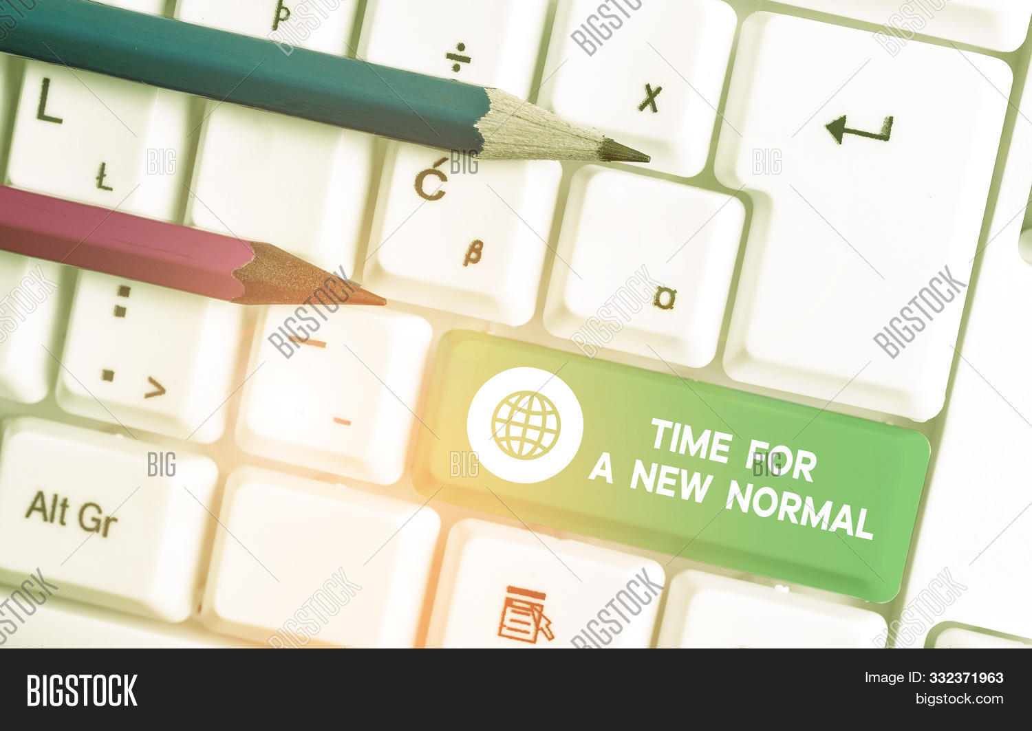 Writing Note Showing Image Photo Free Trial Bigstock