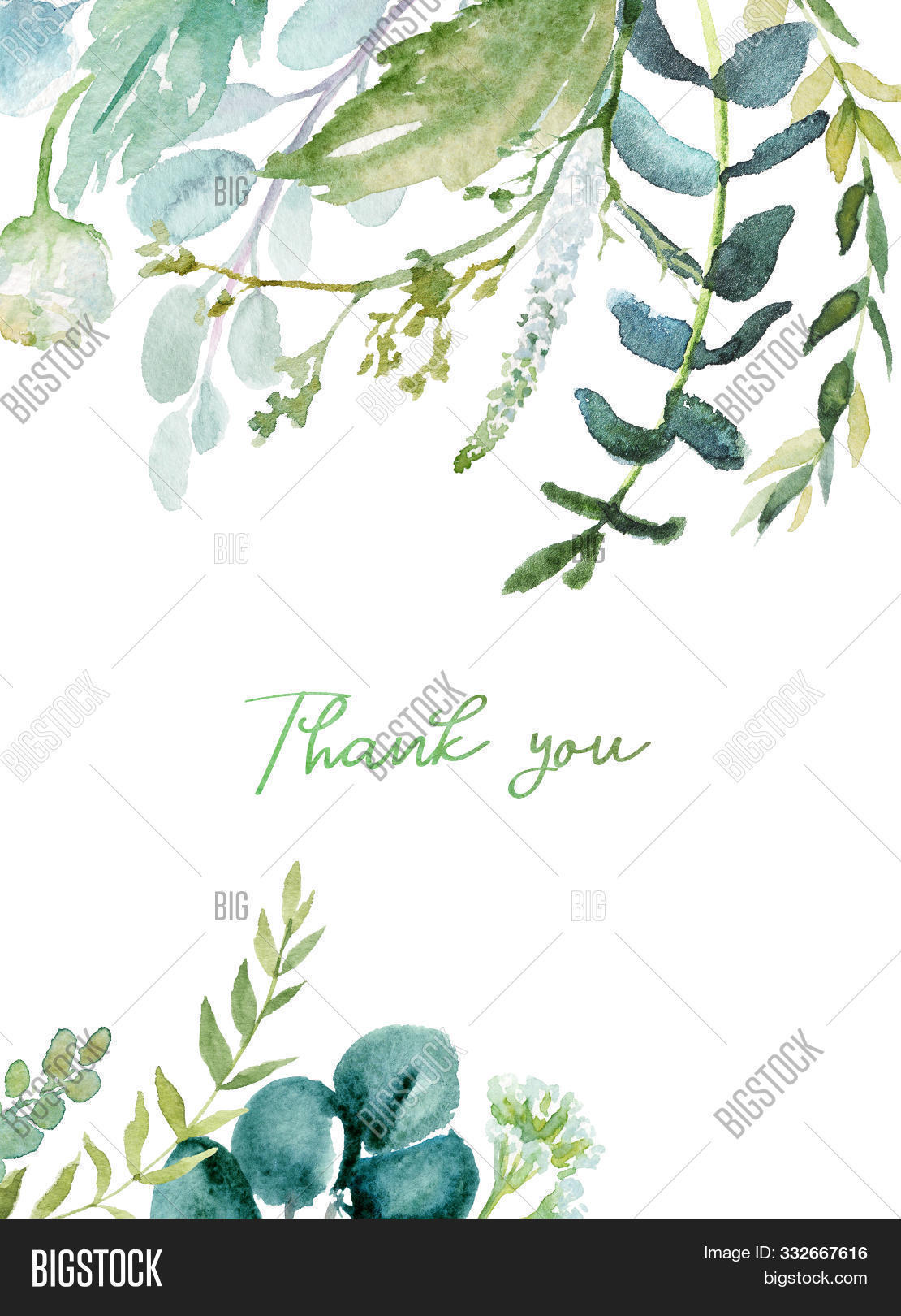 Watercolor Floral Image Photo Free Trial Bigstock