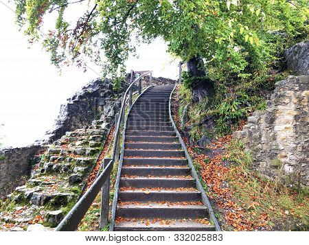 The Ruins Of Stein Castle Or Schloss Stein Or Ruine Stein Or Schlossruine Stein, Baden - Canton Of A