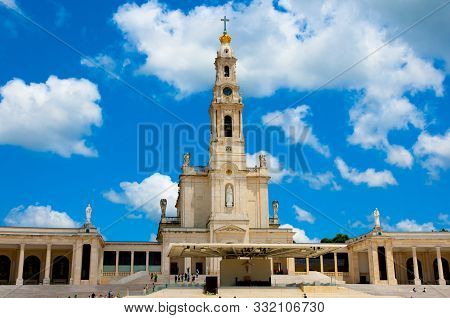 Basilica Of Our Lady Of Fatima Rosary - Portugal