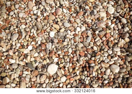 Pebble Stone Background.small Colorful Pebbles Background, Simplicity, Daylight, Stones.smooth Water