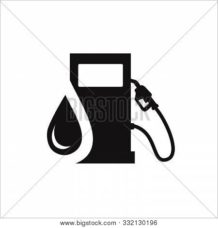Gasoline Pump Gas Station Icon Vector Design Symbol