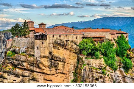 The Holy Monastery Of Varlaam At Meteora - Thessaly, Greece