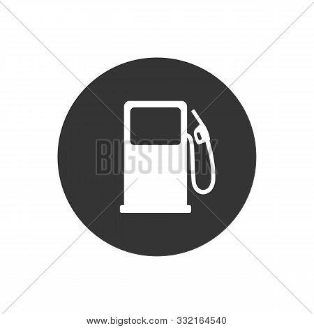 Fuel Refill Symbol. Vector Illustration Flat Style
