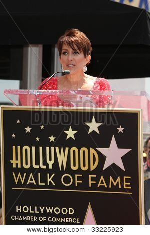 LOS ANGELES - MAY 22: Patricia Heaton at a ceremony honoring Patricia Heaton with a Star on The Hollywood Walk of Fame on May 22, 2012 in Los Angeles, California