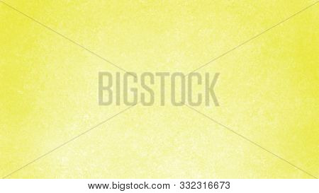 Bright Lemon Yellow Background With White Center And Dark Yellow Border With Texture Pattern Design.