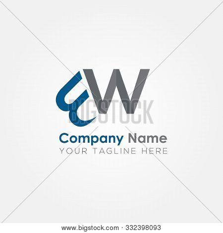Initial Bw Letter Logo Vector Template Design. Linked Letter Bw Logo Design. Bw. Bw Logo. Logo Vecto