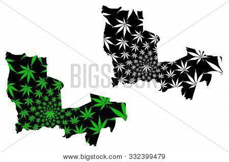 Lualaba Province (democratic Republic Of The Congo, Dr Congo, Drc, Congo-kinshasa) Map Is Designed C