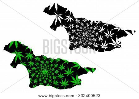 Nord-ubangi Province (democratic Republic Of The Congo, Dr Congo, Drc, Congo-kinshasa) Map Is Design