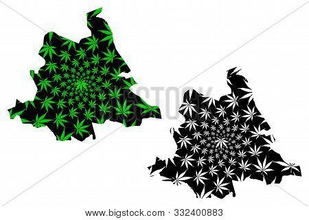 Tshuapa Province (democratic Republic Of The Congo, Dr Congo, Drc, Congo-kinshasa) Map Is Designed C