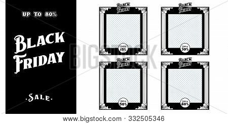 Black Friday. Black Friday sale. Black Friday vector. Black Friday sign. Black Friday sale banner. Black Friday sale banner vector design template for website, ad. banner vector design template for Black Friday sale. Vector template of Black Friday sale b