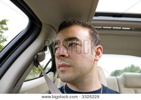 Bored Car Passenger