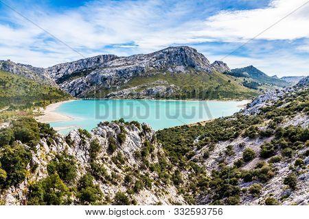 The Landscape Of The Serra Tramuntana On The Island Of Mallorca
