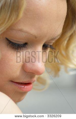 Face Of Beautiful Girl