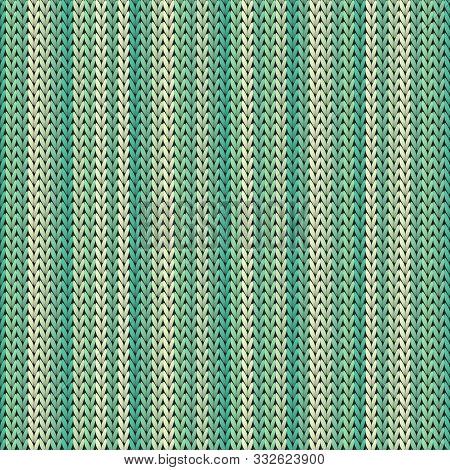 Vintage Vertical Stripes Christmas Knit Geometric Seamless Pattern. Ugly Sweater Knitting Pattern Im