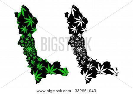 West Azerbaijan Province (provinces Of Iran, Islamic Republic Of Iran, Persia) Map Is Designed Canna