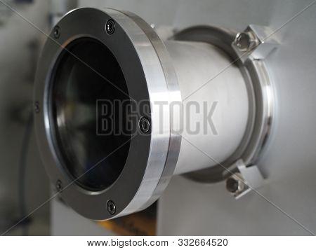 Vacuum Deposition System Front Door Glass Viewport