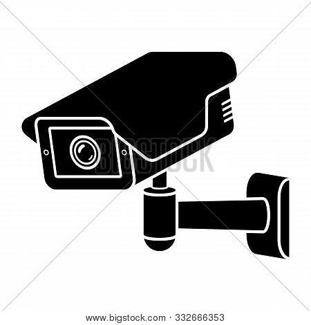 Security Camera. Cctv Icon. Video Surveillance Icon.