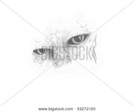 Eyes Of A Man-beast