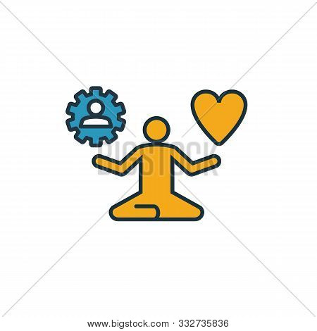 Stress Management Icon. Simple Element From Soft Skills Icons Collection. Creative Stress Management
