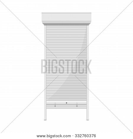 Isolated Object Of Jalousie And Roll Symbol. Web Element Of Jalousie And Bamboo Stock Vector Illustr