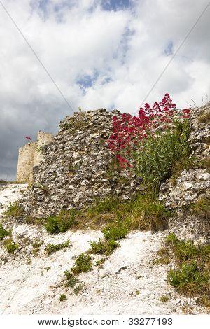 Gaillard Castle ruins