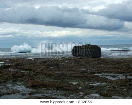 Splash Of A Giant Wave