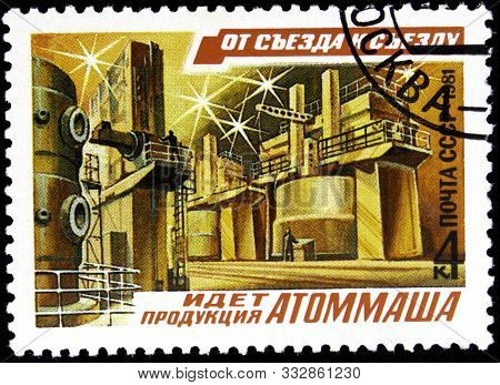 10.24.2019 Divnoe Stavropol Territory Russia Postage Stamp Ussr 1981 Series From Congress To Congres