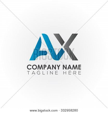 Ax Letter Logo Vector Design. Ax Logo Design. Ax. Ax Logo. Font. Template. Symbol. Typography. Conce