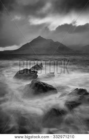 Elgol Is A Place Where The Time Stops. Isle Of Skye, Scotland.