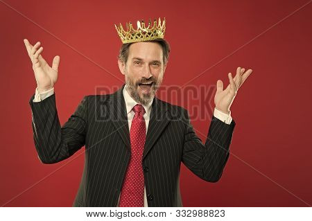 Superior And Narcissistic. Become King Ceremony. I Am Just Superior. Award And Achievement. Feeling