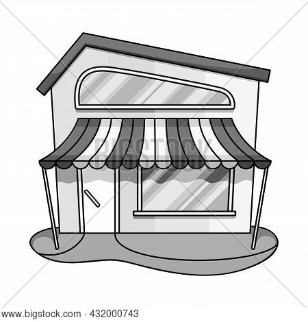 Isolated Object Of Bookstore And Shop Icon. Set Of Bookstore And Mini Vector Icon For Stock.