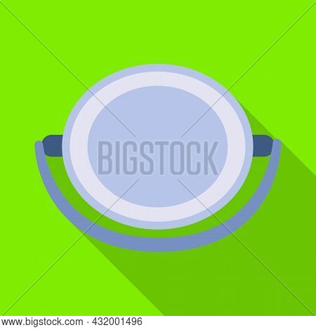 Isolated Object Of Housework And Pailful Icon. Collection Of Housework And Bucket Vector Icon For St