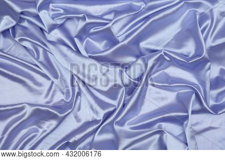Smooth Elegant Purple Silk Satin Texture Pattern